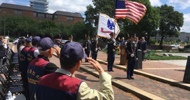 Philadelphia's Korean community gathered at a memorial commemorating the 68th anniversary of the Korean War.