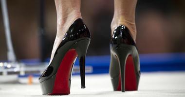 former Alaska Gov. Sarah Palin wears Christian Louboutin shoes