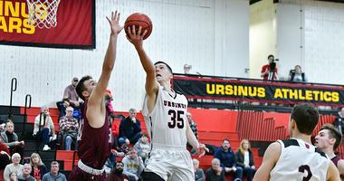 Junior guard Ryan McTamney leads Division III Ursinus College in scoring (17.5 ppg).