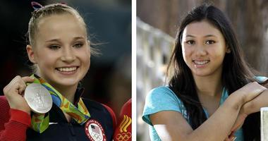 U.S. Olympic journalists Madison Kocian and Kyla Ross