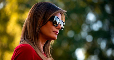 First lady Melania Trump's spokeswoman went after rapper T.I. Tuesday, whose most recent music video features a Trump lookalike dancing without clothes in a fake Oval Office.