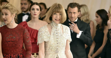 In this May 7, 2018 file photo, Anna Wintour attends The Metropolitan Museum of Art's Costume Institute benefit gala celebrating the opening of the Heavenly Bodies: Fashion and the Catholic Imagination exhibition in New York.