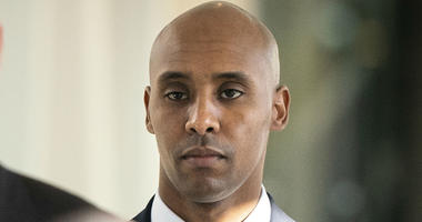 In this April 26, 2019, file photo, former Minneapolis police officer Mohamed Noor walks to court in Minneapolis.