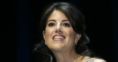 In this June 25, 2015, file photo, Monica Lewinsky attends the Cannes Lions 2015, International Advertising Festival in Cannes, southern France.