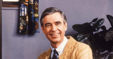 Portrait of American educator and television personality Fred Rogers of the television series 'Mister Rogers' Neighborhood,' circa 1980s.