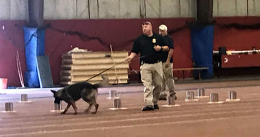 More than 30 federal, state and local K-9 teams get their certification in explosives detection from the Federal Bureau of Alcohol, Tobacco, Firearms and Explosives.