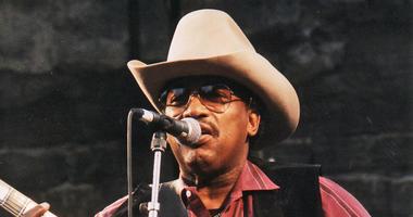 Otis Rush performing at Notodden bluesfestival, Norway, in 1997.