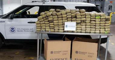Border agents thwarted a huge 600-pound shipment of marijuana from Puerto Rico from reaching its New Jersey destination last week.