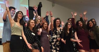 Students from Penn-Trafford High School