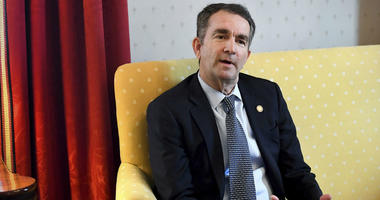 Virginia Gov. Ralph Northam talks during an interview at the Governor's Mansion, Saturday, Feb. 9, 2019 in Richmond, Va.