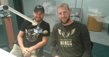 Forwards Josh Currier (left) and Kiel Matisz were selected by the Philadelphia Wings in the recent NLL Expansion Draft.
