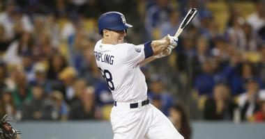 Los Angeles Dodgers starting pitcher Ross Stripling