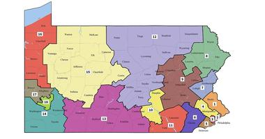 The Pennsylvania Supreme Court released new congressional district lines in February, replacing the old Republican-drawn maps in time for the state's May primary.