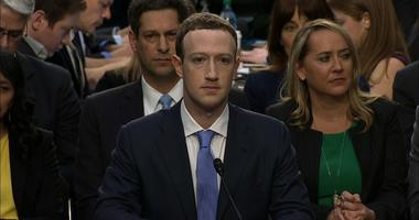 Mark Zuckerberg is seen here testifying before Congress on April 10, 2018. (FILE)