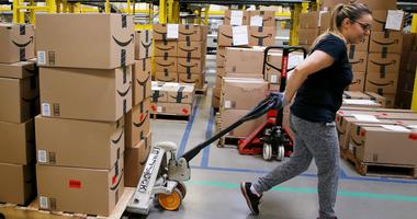 Amazon disclosed that the median pay for its employees was just $28,446 in 2017.