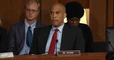 New Jersey Senator Cory Booker