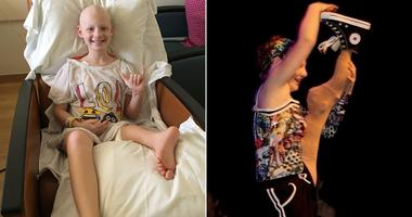 Backward leg allows teen cancer survivor to dance
