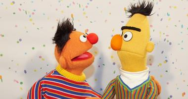 "Bert and Ernie from ""Sesame Street"""