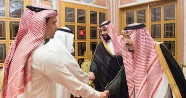 Saudi Crown Prince Mohammed bin Salman and his father King Salman