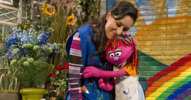 """For the first time, a resident of """"Sesame Street"""" is experiencing homelessness."""