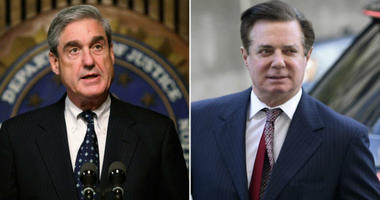 Robert Mueller (left) and Paul Manafort (right)