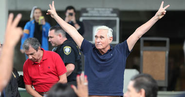 Roger Stone vowed Friday afternoon to fight the charges brought by special counsel Robert Mueller and said he would refuse to testify against President Donald Trump.