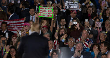 Several members of the media were shoved and assaulted at President Trump's campaign rally in El Paso, Texas.