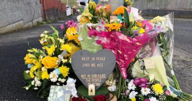 Lyra McKee memorial
