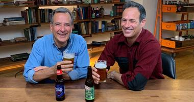 The Boston Beer Company and Delaware-based brewer Dogfish Head Craft Brewery said Thursday that they plan to merge the companies in a deal valued at more than $300 million.