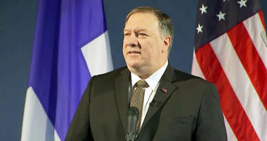 US Secretary of State Mike Pompeo blamed Iran for an attack on two tankers in the Gulf of Oman, saying the assessment was based on intelligence, but offered no evidence to support his claim.