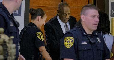 Cosby arrives for his final court session in June 2017.