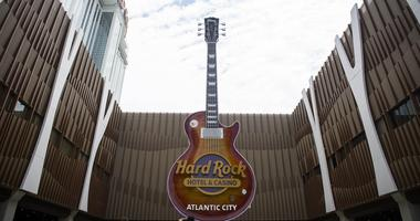 June 28, 2018; Atlantic City, NJ, USA; The new Hard Rock Hotel & Casino in Atlantic City. N.J
