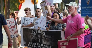 New Jersey Senate protest