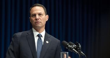 August 14, 2018; Harrisburg, PA, USA; Attorney General Josh Shapiro outlined the findings of the grand jury investigation into six catholic diocese in Pennsylvania.