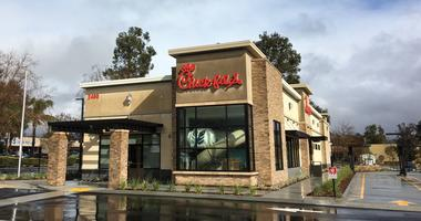 An indoor play area and a two-lane drive-thru are among the features at Chick-fil-A in Simi Valley. The restaurant will open on Feb. 21.