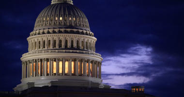 Capitol Dome at dawn in Washington
