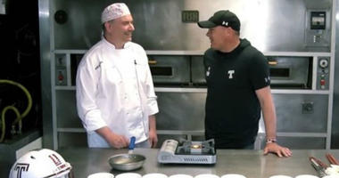 Pastry chef Dave Okapaul