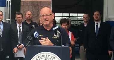 Vince Jones, director of emergency management in Atlantic County