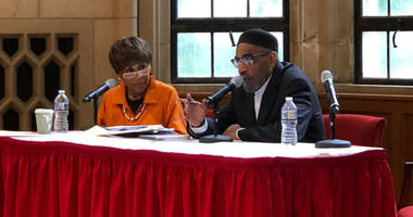 Vivienne Crawford and Kenny Gamble