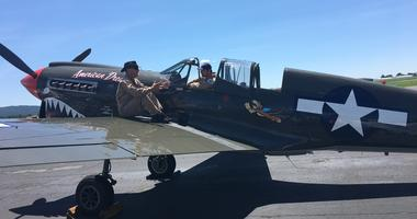 A P-40 Warhawk