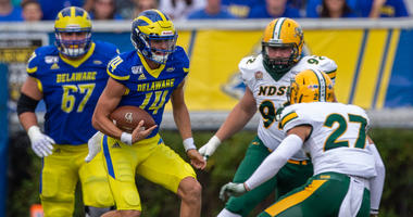 Redshirt sophomore quarterback Nolan Henderson got his most extensive playing time of the season against NDSU and made the most of it.