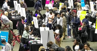 Philadelphia International Airport hosted a job fair