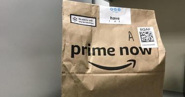 Amazon Prime Now delivery