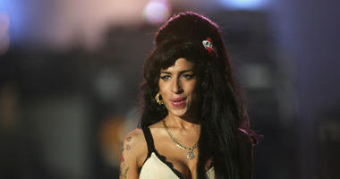 Amy Winehouse performs during the 46664 concert in celebration o Nelson Mandela's life at Hyde Park on June 27, 2008 in London, England.