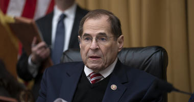 In this March 26, 2019 photo, House Judiciary Committee Chairman Jerrold Nadler, D-N.Y., presides at a meeting directing the attorney general to transmit documents to the U.S. House relating to the actions of former Acting FBI Director Andrew McCabe.
