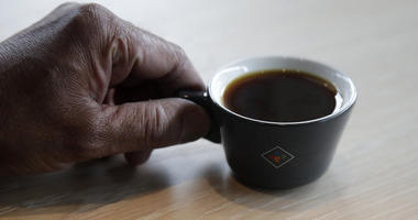 The California cafe is brewing up what it calls the world's most expensive coffee - at $75 a cup.