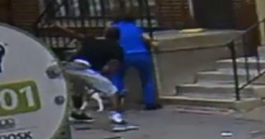 A 24-year-old woman fends off a man who tried to abduct her on 13th Street in Philadelphia.