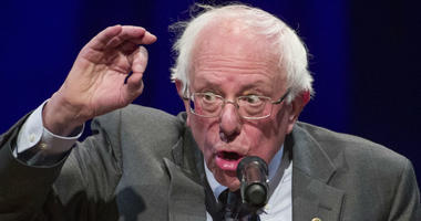 Sen. Bernie Sanders, I-Vt., speaks about his new book, 'Where We Go From Here: Two Years in the Resistance' in Washington. Sanders is poised to become a dominant force in the Democratic Party's next presidential primary election should he run.