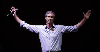 In this Nov. 6, 2018, file photo, Rep. Beto O'Rourke, D-Texas, the 2018 Democratic Candidate for U.S. Senate in Texas, makes his concession speech at his election night party in El Paso, Texas.