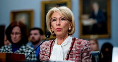 For the third year in a row, Democrats dinged Education Secretary Betsy DeVos for proposing to cut funds from the Special Olympics, after-school programs and support for students from low-income families.